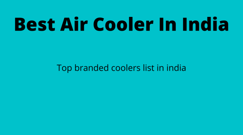 Best-Air-Cooler-In-India