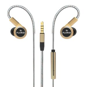 Florid Phoenix 2020 in-Ear Metal Wired Earphones with Mic and in-Line Control
